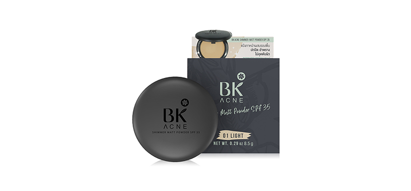 BK Acne Shimmer Matt Powder SPF35 8.5g #01 Light