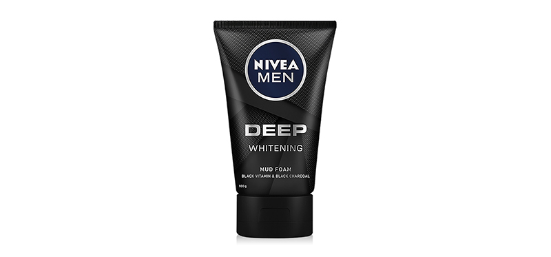 NIVEA Men Deep Whitening Mud Foam 100g
