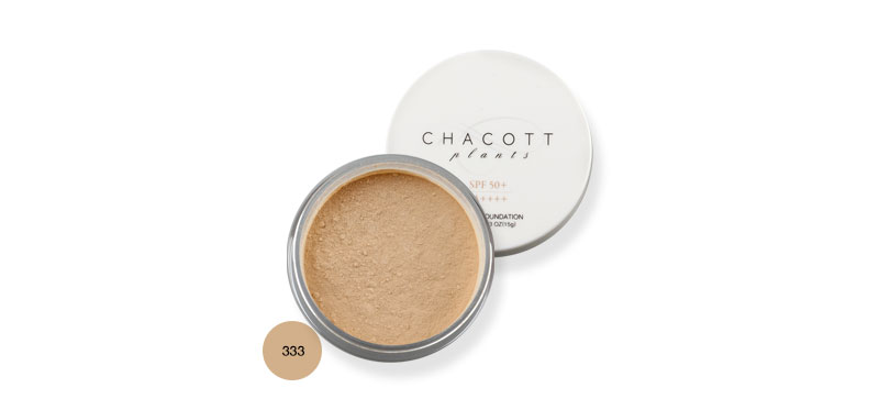 Chacott for Professionals Plant Powder Foundation SPF50+/PA++++ 15g #333