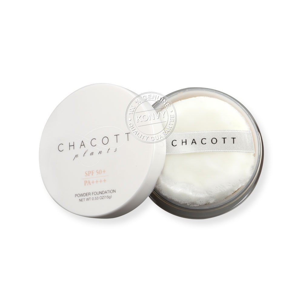 Chacott for Professionals Plant Powder Foundation SPF50+/PA++++ 15g #334 ( สินค้าหมดอายุ : 2020.12 )