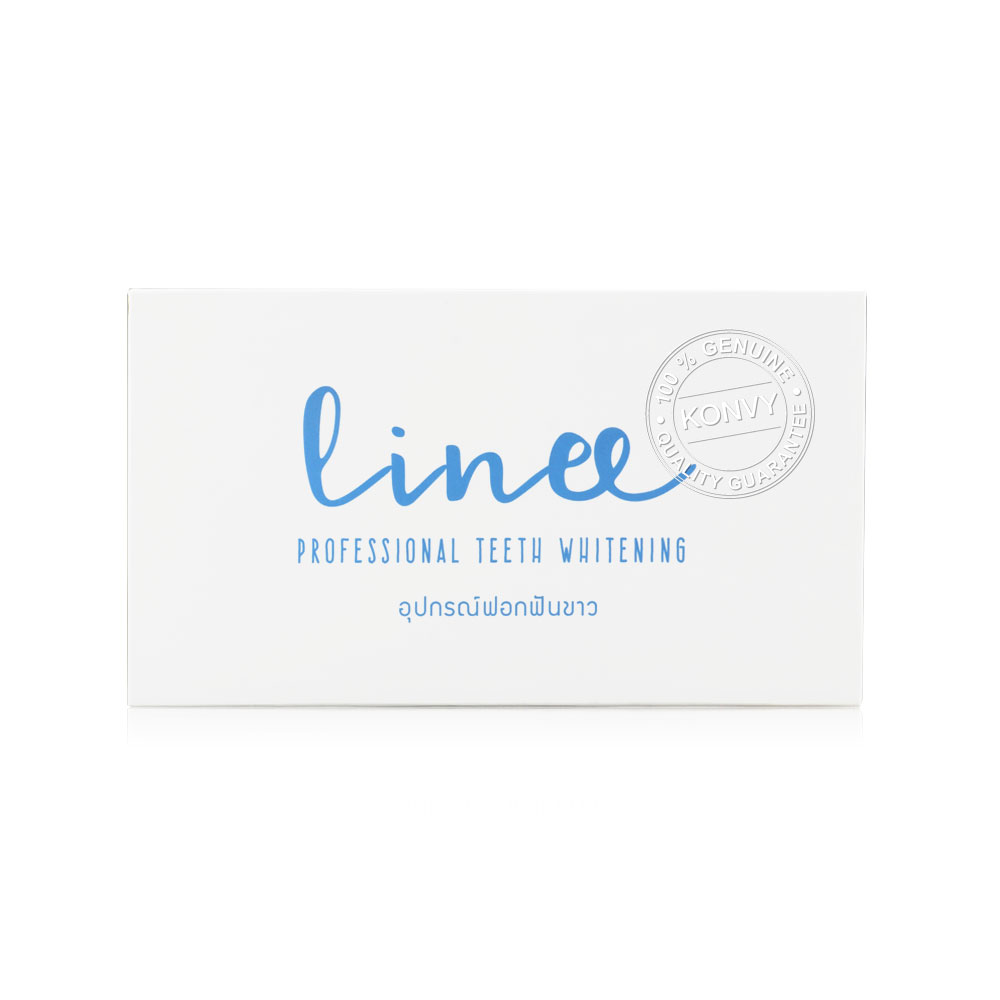 Linee Whitening Kit [LED Light Machine + Silicone Tray + Whitening Gel] ( สินค้าหมดอายุ : 2021.10 )
