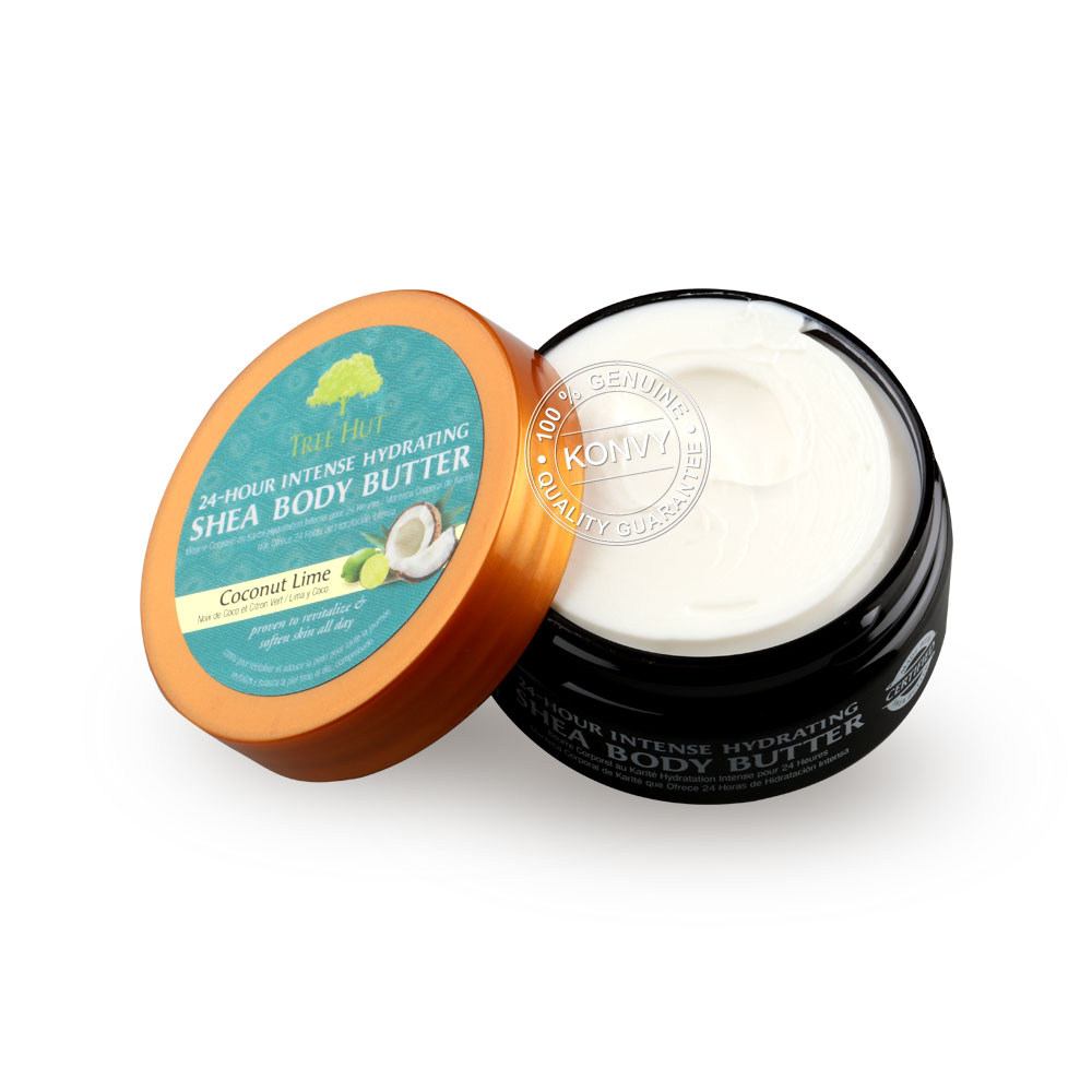 Tree Hut 24-Hour Intense Hydrating Shea Body Butter Coconut Lime 57g