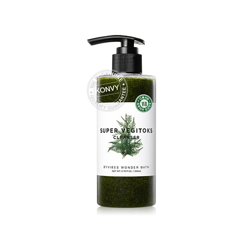 Wonder Bath Super Vegitoks Cleanser 300ml (Green)