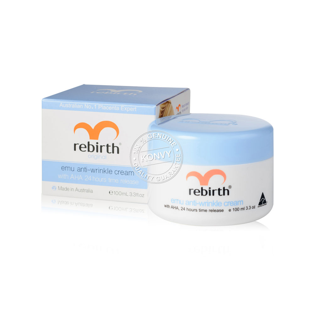 Rebirth Placenta & Emu Anti-Wrinkle Set (100ml x 2pcs) (Free! Eye Gel 30ml) ( สินค้าหมดอายุ : 2021.09 )