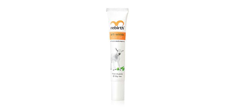Rebirth Anti - Wrinkle Eye Gel With Aloe Vera & Vitamin E 30ml
