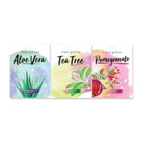 ฟรี! Cute Press Aloe Vera Soothing + Tea Tree Blemish + Pomegranate Anti Aging Mask (24g x 3pcs) (1 ชิ้น / 1 ออเดอร์) เมื่อช้อปสินค้า Cute Press ครบ 299-398.- (จนกว่าของแถมจะหมด)