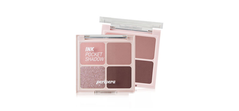 Peripera Ink Pocket Shadow Palette #4 Dipping Rose Moment