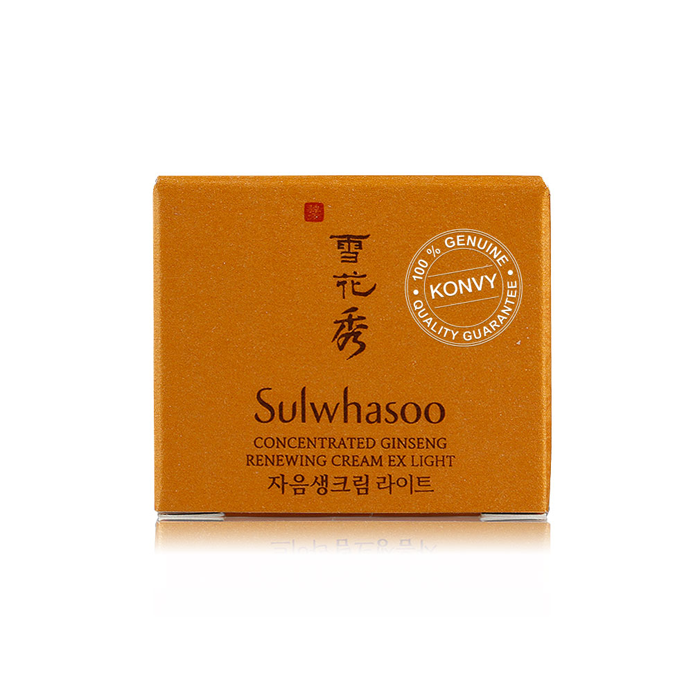Sulwhasoo Concentrated Ginseng Renewing Cream EX Light 5ml
