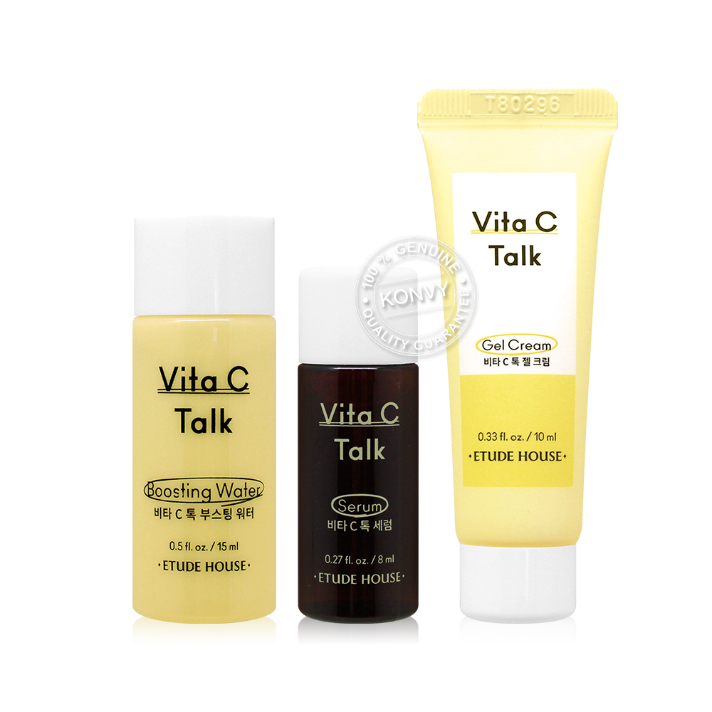 [Free Gift] Etude House Vita C Talk Kit
