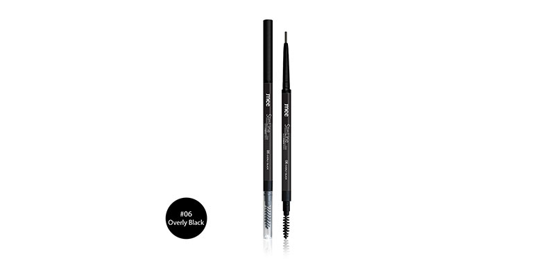 Mee Slim Line Auto Eyebrow Pencil 1.5mm #06 Overly Black