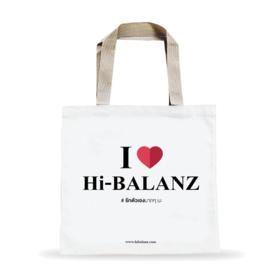 Free! Hi-Balanz Tote Bag (1 pc / 1 order)   when shop Hi-Balanz reach 1,000.-