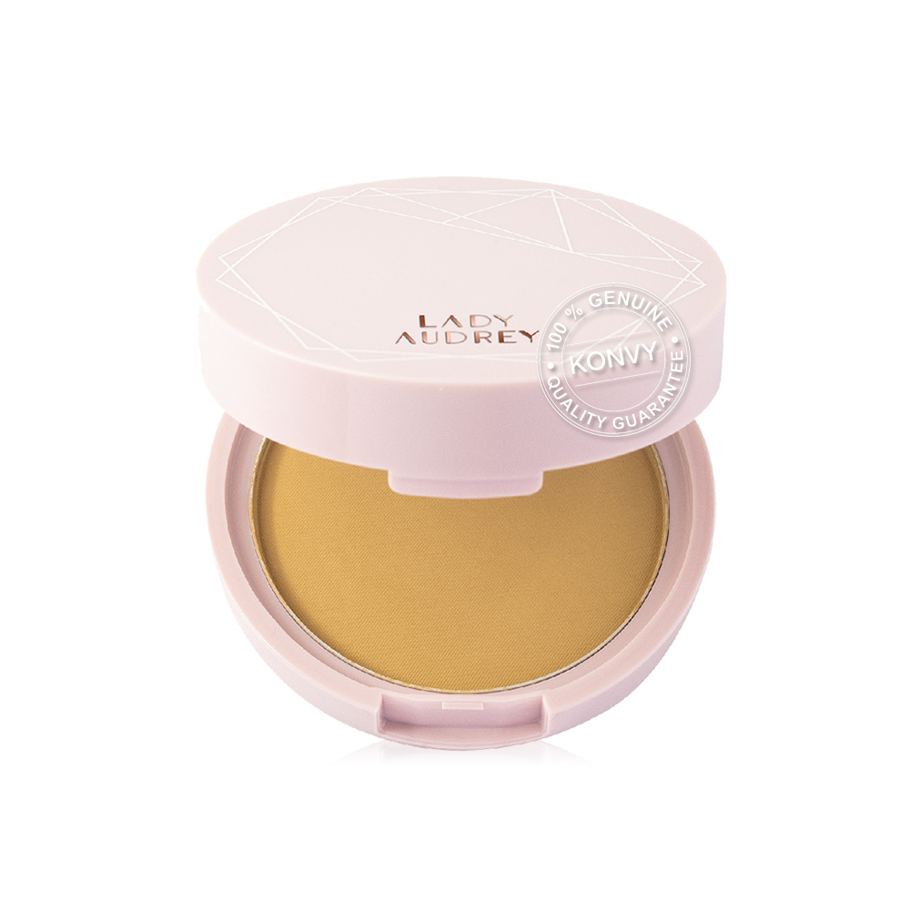 Lady Audrey Rice Flawless Foundation Powder Long-Lasting Oil Control 9g #30 Beige
