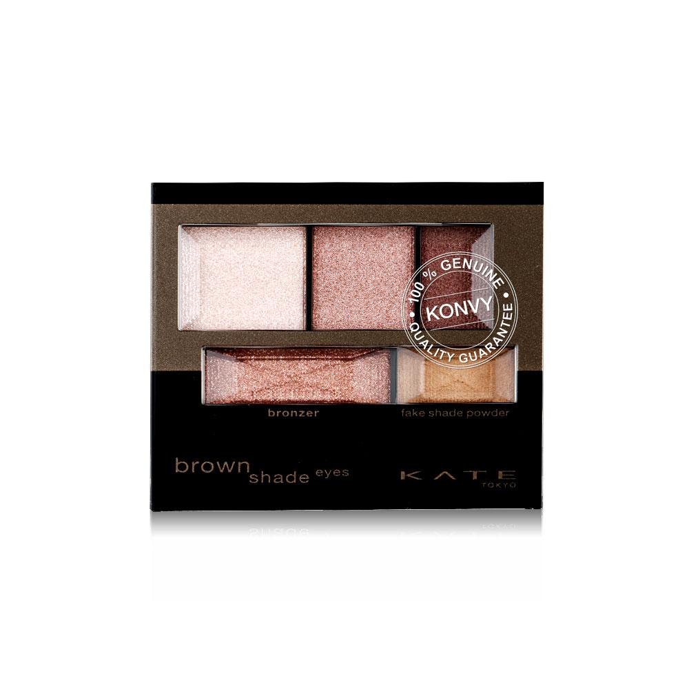 KATE Brown Shade Eyes N 3.2g #BR-3 Brown Pink