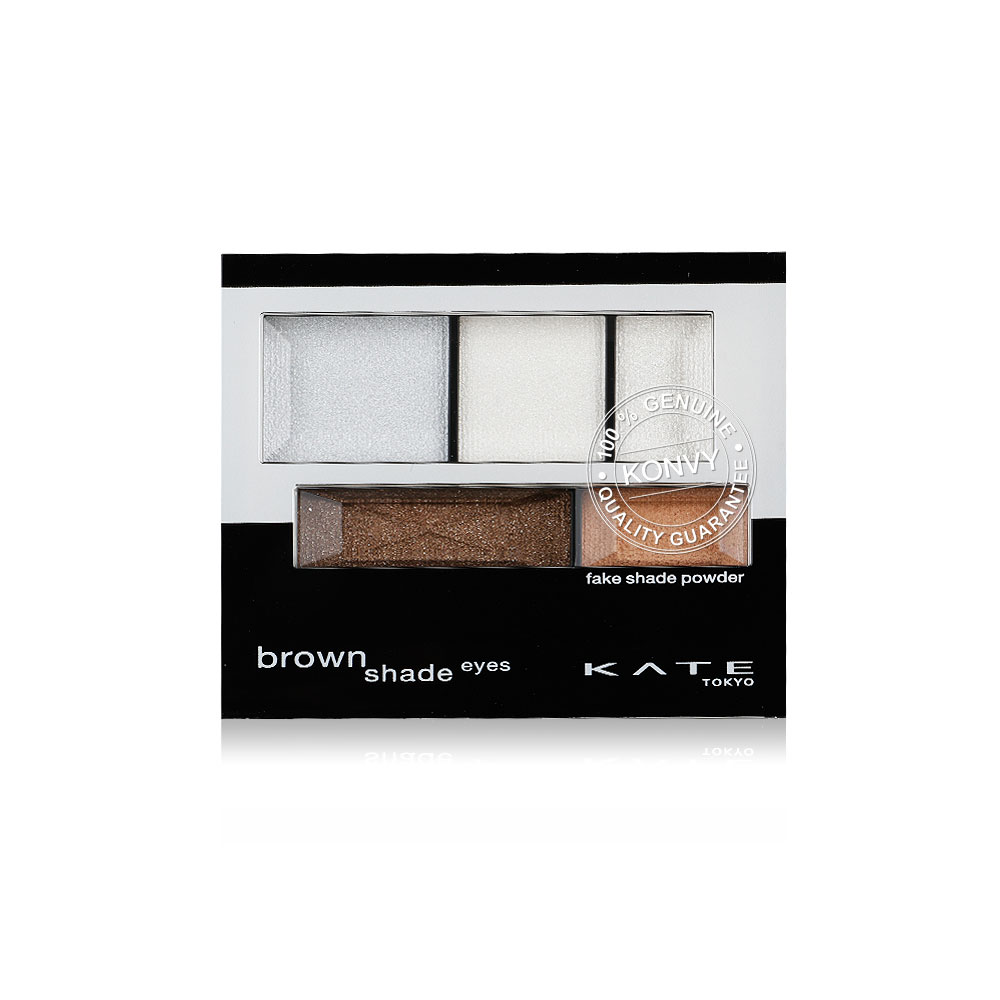 KATE Brown Shade Eyes N 3.0g #WT-2 Clear White