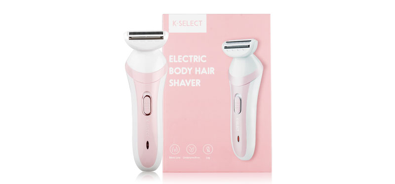 K-SELECT Electric Body Hair Shaver