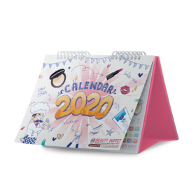 Free! Beauty Buffet Calendar 2020 (1 pc / 1 order) when shop reach 599.-
