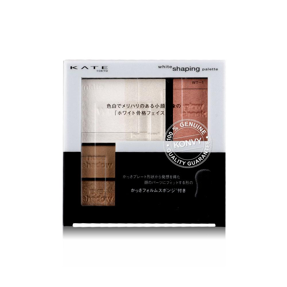 KATE White Shaping Palette 6.2g #WT-1 Pink White