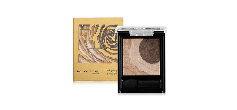 KATE Dark Rose Shadow 2.3g #BR-2 Limited Gold Brown