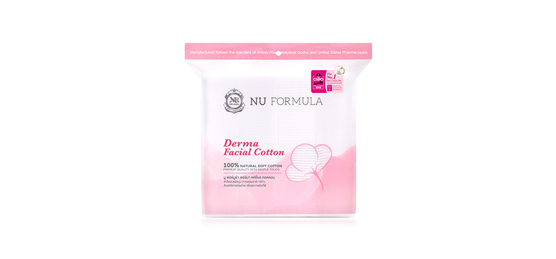Nu Formula Derma Facial Cotton 200pcs