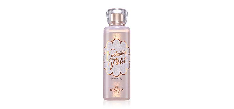 Bisous Bisous Enchanted Violet Shower Gel 250ml