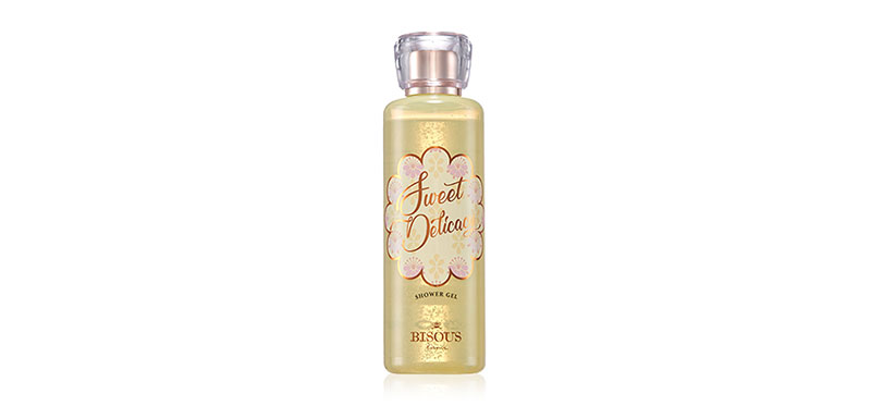 Bisous Bisous Sweet Delicacy Shower Gel 250ml