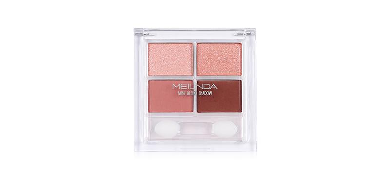 Mei Linda Mini Block Shadow #01 Nude Pink