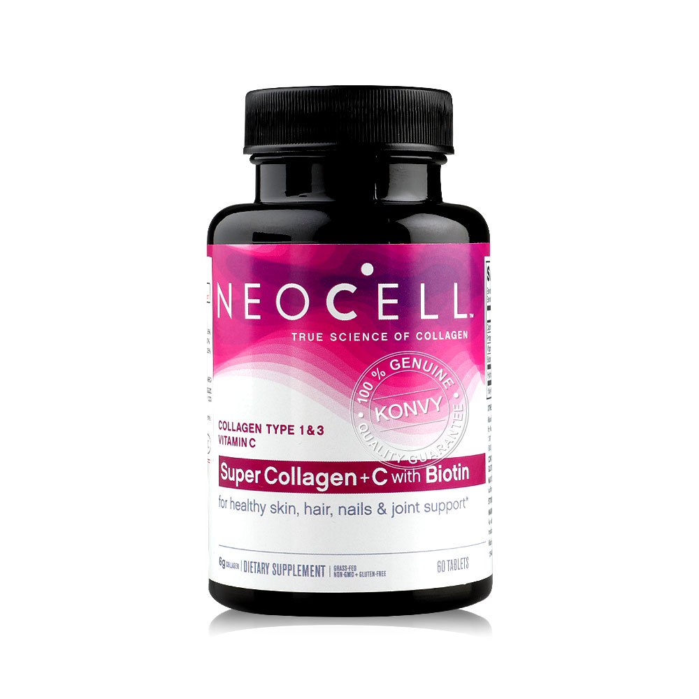 NeoCell Super Collagen +C with Biotin 60 Tablets