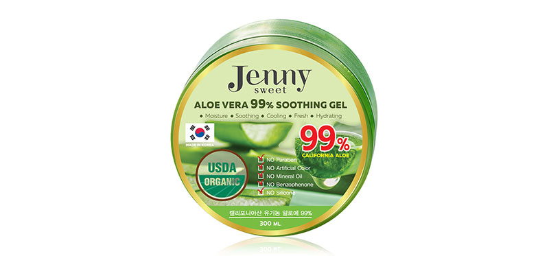 Jenny Sweet Aloe Vera 99% Soothing Gel 300ml