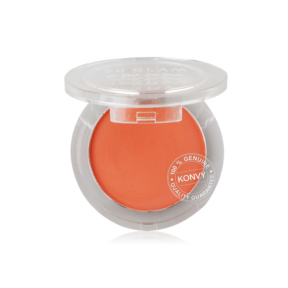 So Glam Go Blush Soft Blusher Blusher 6g #03 Maple Éclair