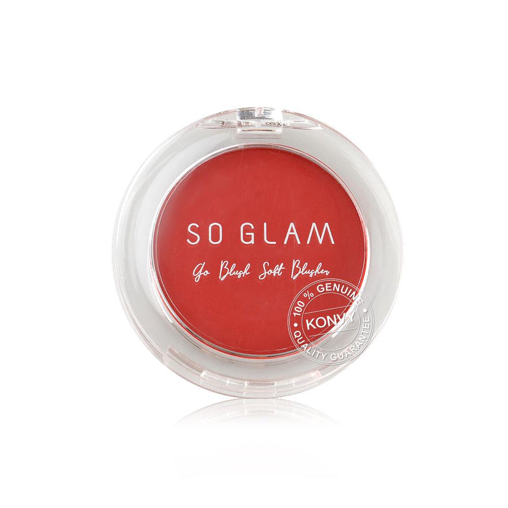So Glam Go Blush Soft Blusher Blusher 6g #05 Red Velvet