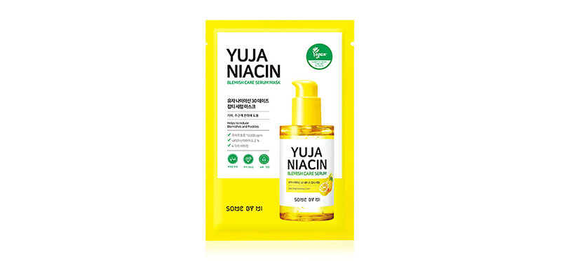 Some By Mi Yuja Niacin Blemish Care Serum Mask 25g