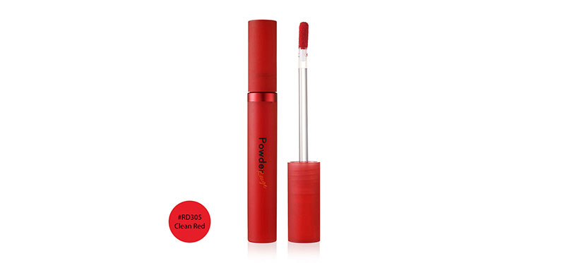 Etude House Powder Rouge Tint #RD305 Clean Red