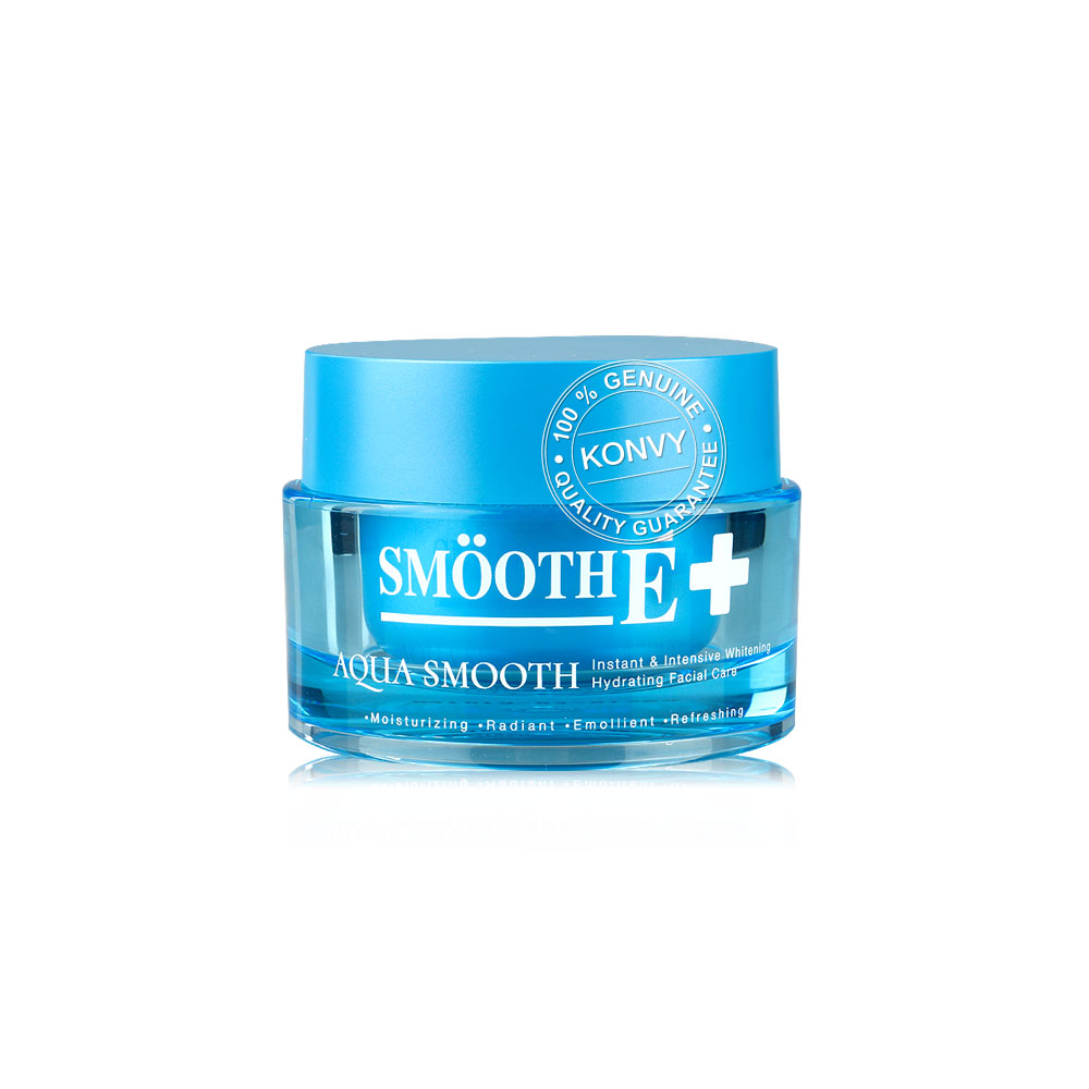 Smooth E Aqua Smooth Instant & Intensive Whitening Hydrating Facial Care 40g