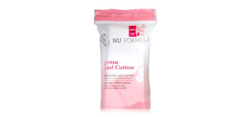 [Free Gift] Nu Formula Derma Facial Cotton 35pcs