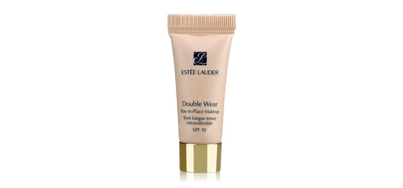 Estee Lauder Double Wear Stay-in-Place Makeup Tein longue tenue intransterable SPF 10 #1W2 Sand 5ml