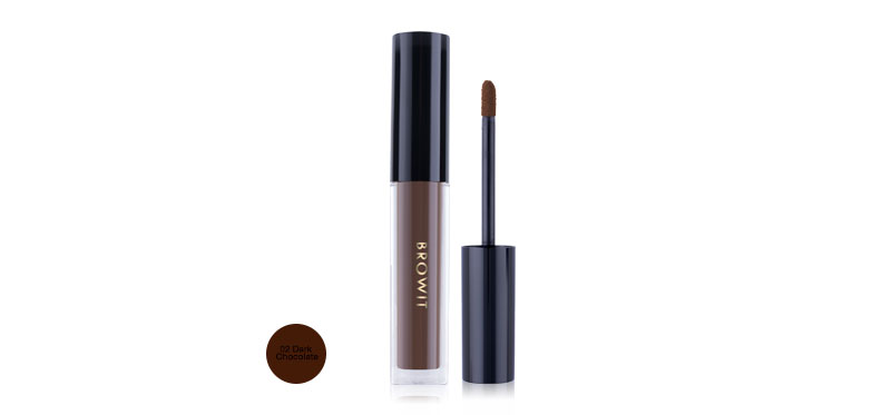 Browit Liquid Eyebrows Matte 2g #02 Dark Chocolate