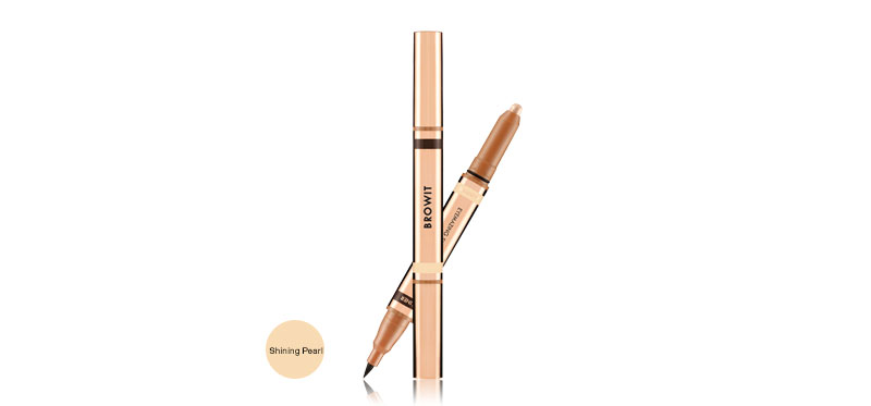Browit 2 In 1 Eyemazing Shadow and Liner #Shining Pearl