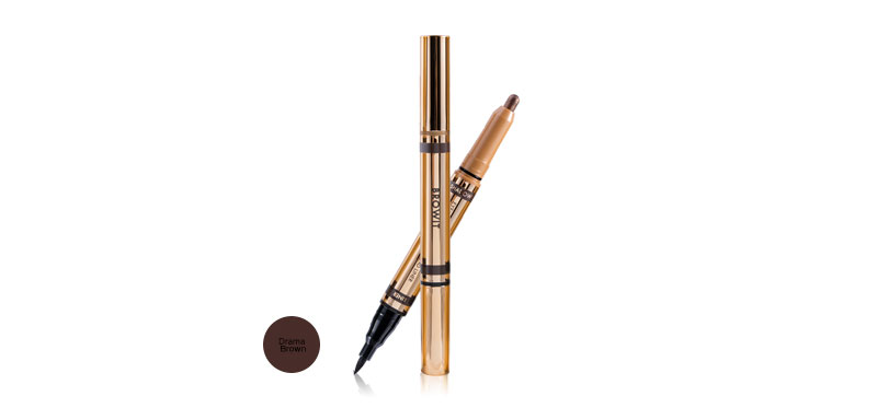 Browit 2 In 1 Eyemazing Shadow and Liner #Drama Brown