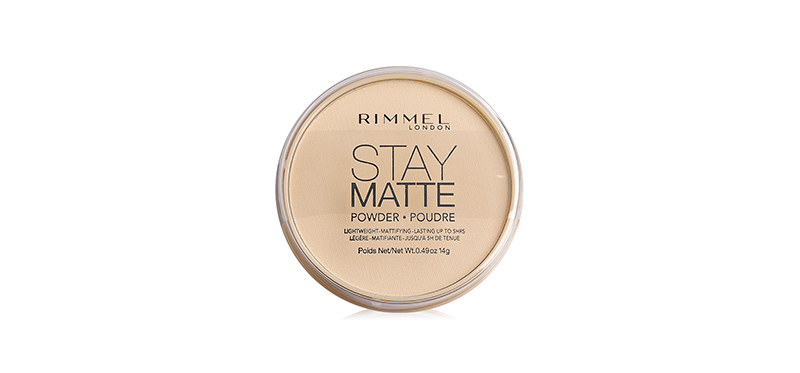 Rimmel Stay Matte Longlasting Pressed Powder #001 Transparent  14g