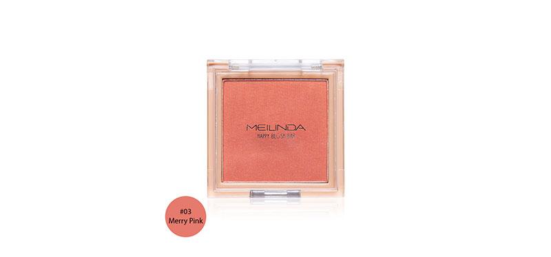 Mei Linda Happy Blush Bar 3g #03 Merry Pink