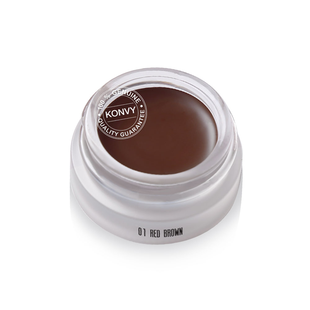 Mei Linda Brow Styling Gel 3g #01 Red Brown