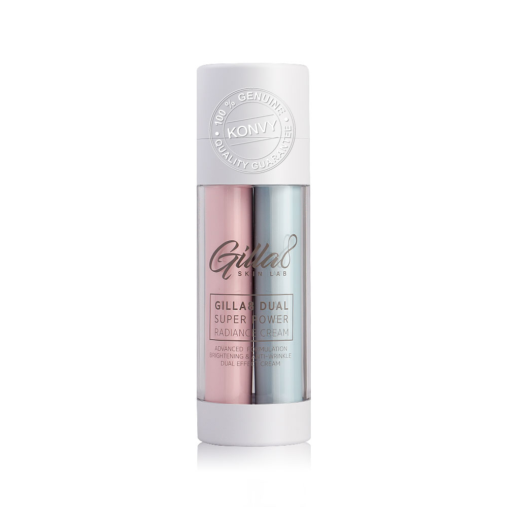 Gilla8 Dual Super Power Radiance Cream 40ml ( สินค้าหมดอายุ : 2021.07 )