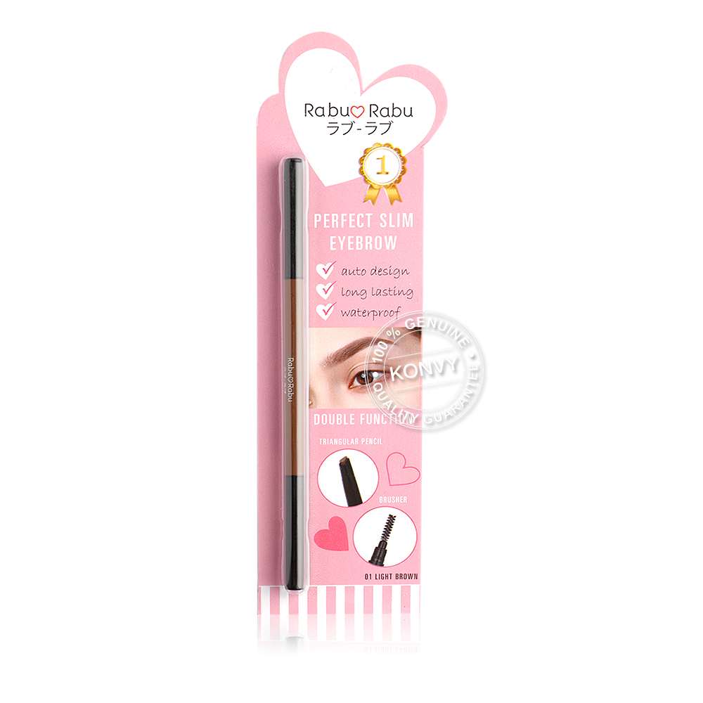 RABU RABU Perfect Silm Eyebrow 0.15g #01 Light brown