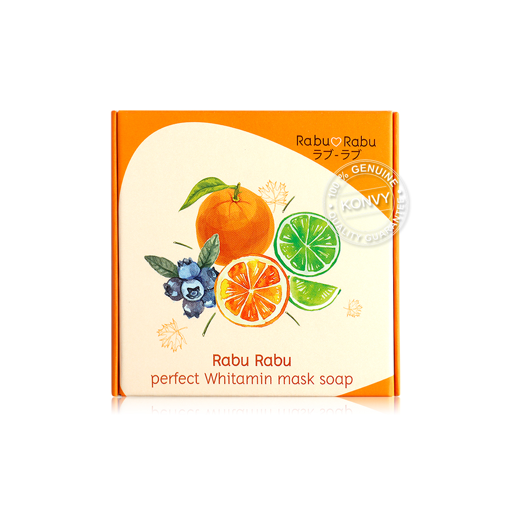 RABU RABU Perfect Whitamin Mask Soap 80ml