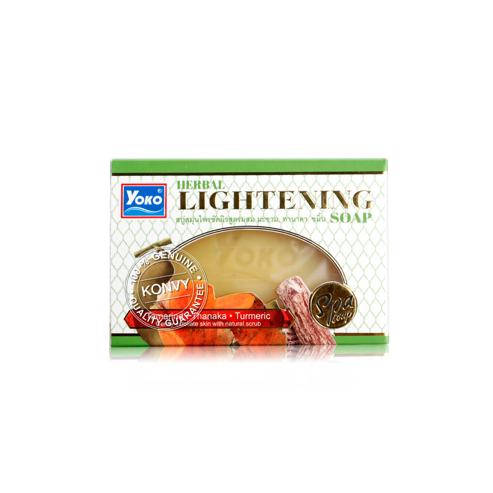 Yoko Herbal Lightening Soap 120g