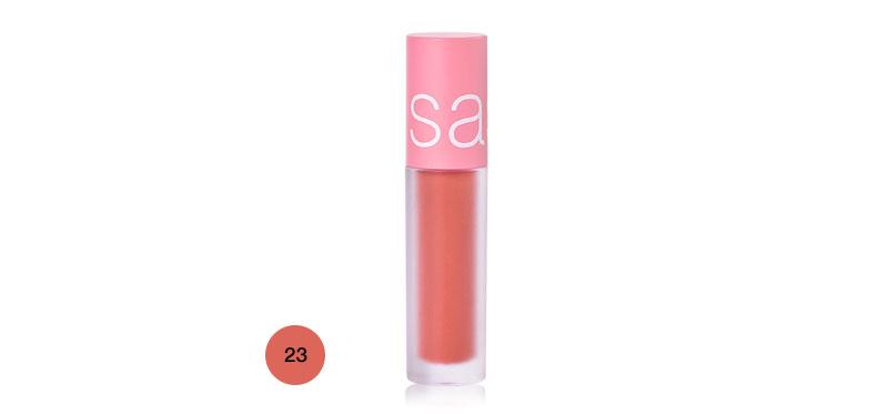 SASI Mousse Mellow Matte Lip 3.0g #23 Apricot Syrup