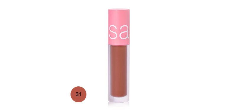 SASI Mousse Mellow Matte Lip 3.0g #31 Apple Toffee