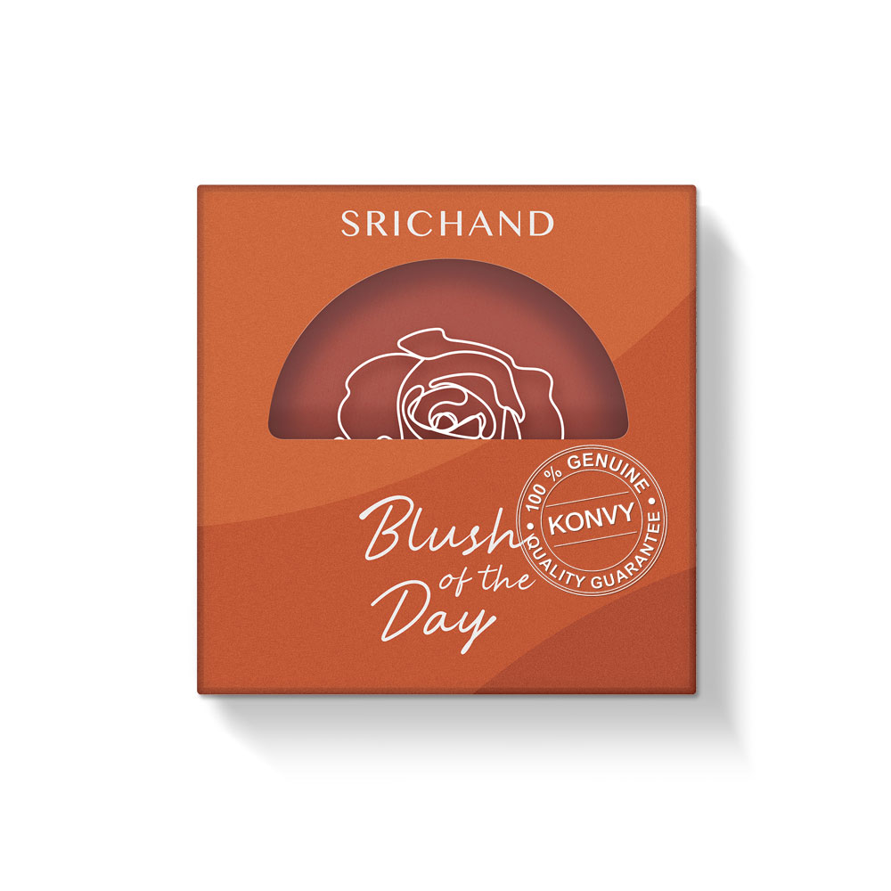 Srichand Blush Of The Day 4.5g #D06 Let's Go On Vacay