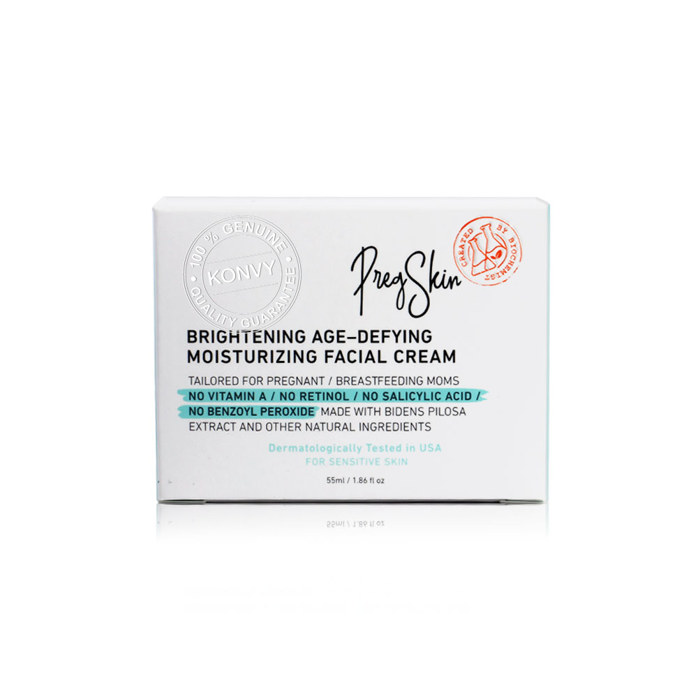 PregSkin Brightening Age-Defying Moisturizing Facial Cream 55g