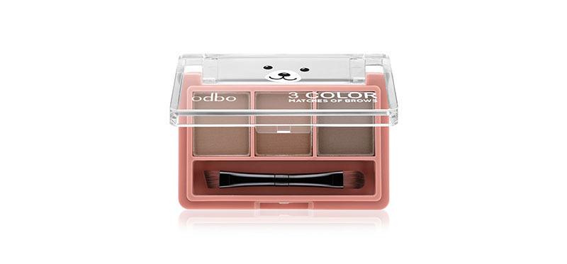 ODBO 3 Color Matches Of Brows 1.5g #OD797-03